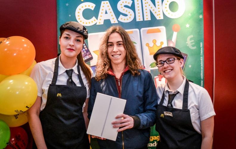 Casino McDonald's : Félicitations à Enzo !
