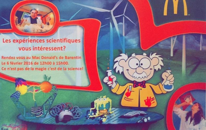 Animation à Barentin : découvrez la science !