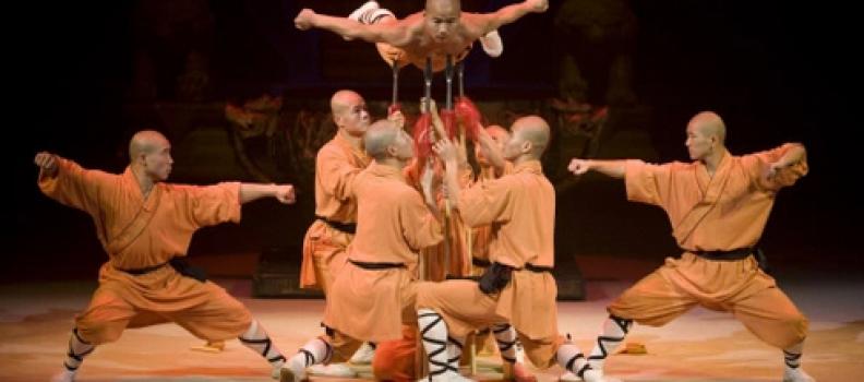Ce week-end, découvrez Shaolin… et l'art de demain